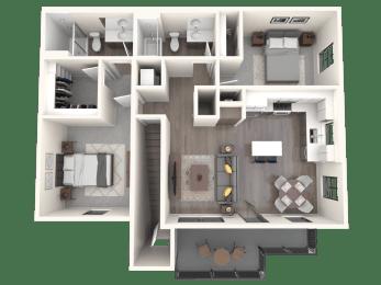 Capitan Floor Plan   Altitude at Vizcaya