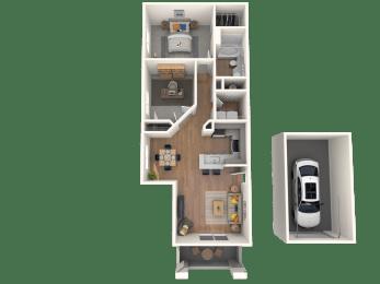 Collalto Floor Plan  Altezza High Desert