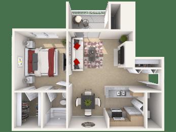 The Hawthorne Floor Plan |Pavilions