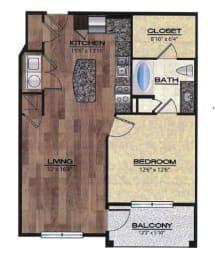 Terni Floor Plan |Rialto