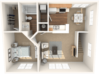 The Ash Floor Plan   Grandeville on Saxon