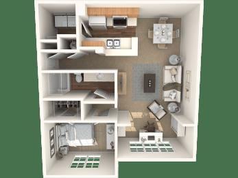 The Aspen Floor Plan  Grandeville on Saxon