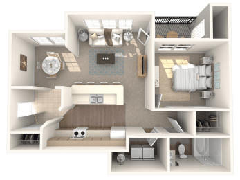 Topaz Floor Plan  Ashlar