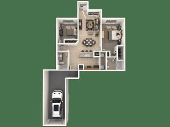 Wellington Floor Plan |Estates at Heathbrook