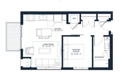 Floor Plan PRESLEY