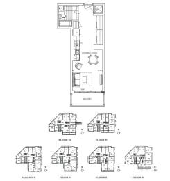Floor Plan A - Kensington