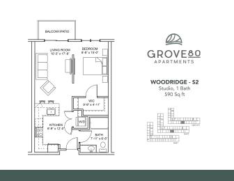 Floor Plan Woodridge - S2