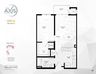 Floor Plan  Floorplan at The Axis