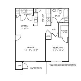 Floor Plan The Chincoteague