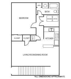 Floor Plan 1A Floor Plan