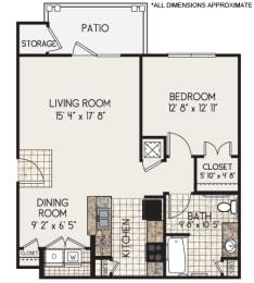 Floor Plan A1 Modified Floorplan
