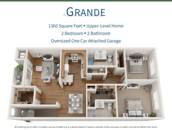 Floor Plan  Grande 3D Floor Plan