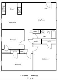 Silver Glen_3 Bedroom Floor Plan