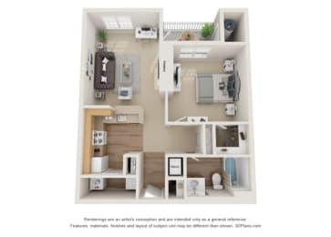 Edison Floor Plan Beacon Place Apartments