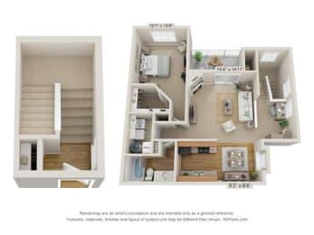 Floor Plan Upper Cascade