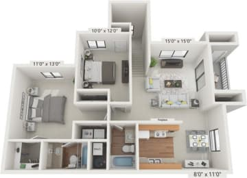 Floor Plan THE CATHEDRAL CHELSEA