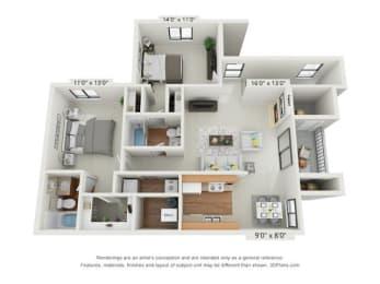 Floor Plan THE WINTHROP UPPER