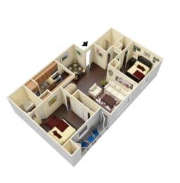 Ridgley - 3D Floor Plans (Furnished)