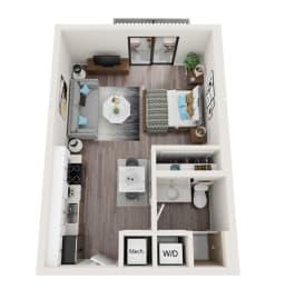 S2 Floor Plan at Alameda West, Miami