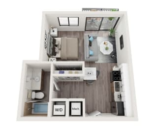 S3 Floor Plan at Alameda West, Florida