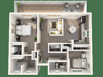 TG Plan 2 at Parke Place Apartments, P.B. BELL, Prescott Valley, AZ 86314