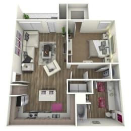 Floor Plan THE BUR *ATTACH GARAGE ON SELECT HOMES
