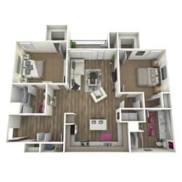 Floor Plan THE SCARLETT *ATTACH GARAGE ON SELECT HOMES