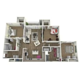 Floor Plan THE WILLOW *ATTACH GARAGE ON SELECT HOMES