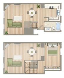 Floor Plan  21021_Van_Owen_unit_A212