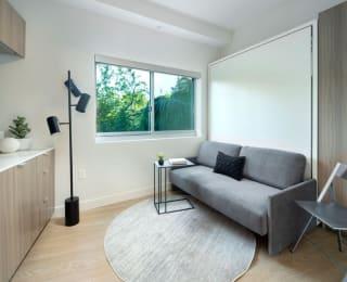 Floor Plan Furnished Co-Living Studio Suite