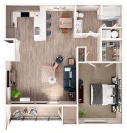 A2 Floor Plan at Zera at Reed Crossing
