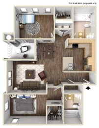 A1 Floor plan, at Rosina Vista, 1551 Summerland Street