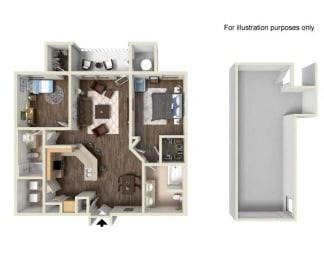 Floor Plan Residence Two Upper