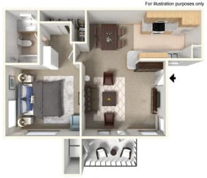 Floor Plan Capri
