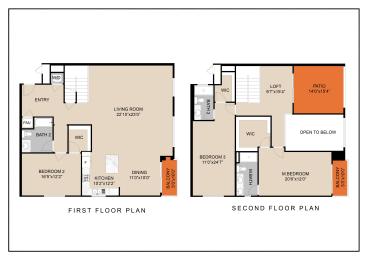 unit d-ph floor plan