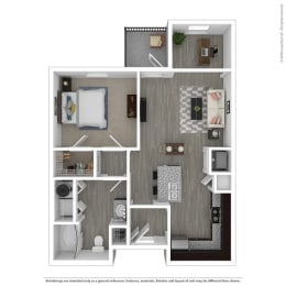 a1 floor plan in euless tx apartments