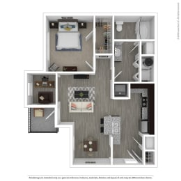 a2 floor plan in euless tx apartments