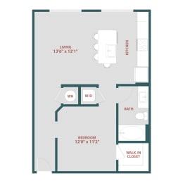 S2 One bedroom, One bathroom