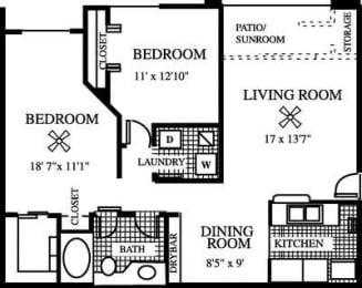 Floor Plan The CoCo Plum