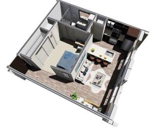 Floor Plan Flora Studio