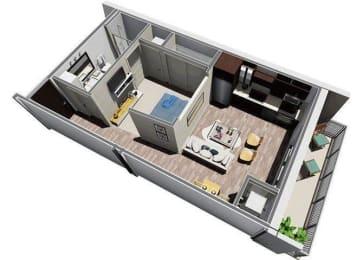 Floor Plan Luna Studio