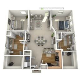 Floor Plan Bulrush