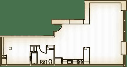 A - floor plan layout