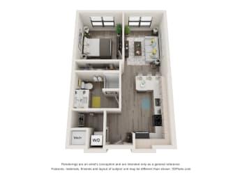 Floor Plan 1A.1