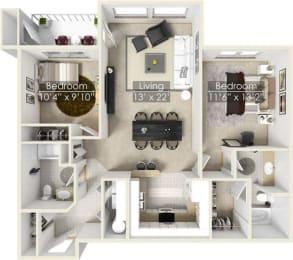 Four Lakes Laurel floor plan