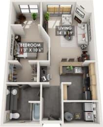 Floor Plan Tradewinds