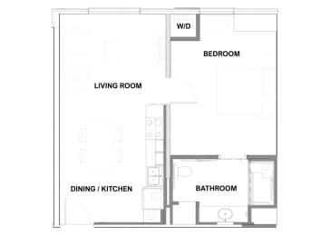 unit a floorplan