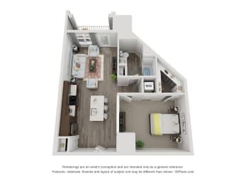 Floor Plan Ringlet