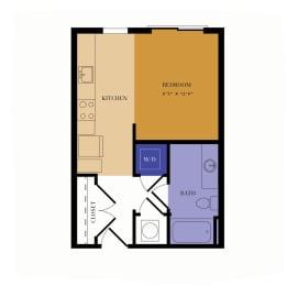 S1 Floor Plan at Alta East, Atlanta, GA