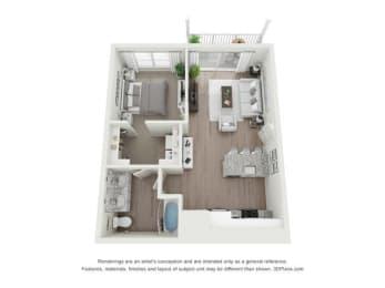 Floor Plan Hartwell